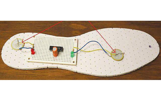Crean zapatos con tecnología que genera energía