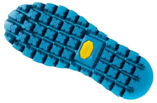 Diseño de suela Multistomp que mejora el nivel de agarre