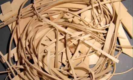 Residuos de Cuero para crear aislantes sonoros y térmicos
