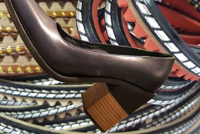 Nueva tendencia de Viras para Calzado y forros de cuero para tacón
