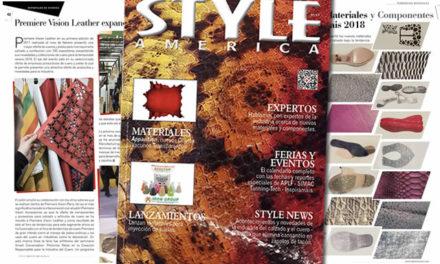 Lanzamiento revista Style America Materiales #17 dedicada a la innovación
