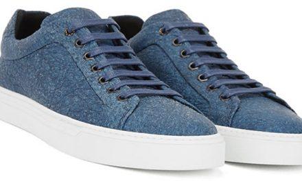 Material alternativo Piñatex en zapatos Hugo Boss
