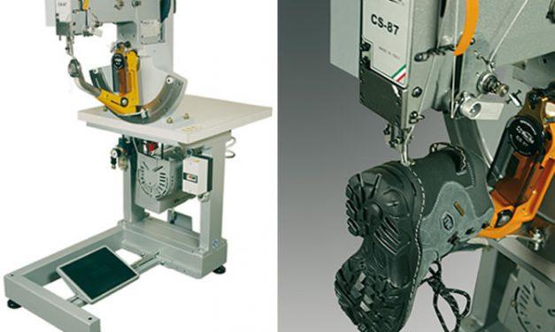 Máquina para coser zapatos con suelas encajadas, oportunidad.