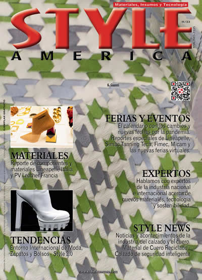 Revista Style America Materiales, Tendencias edición 23