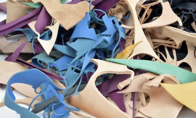 Crean material de cuero reciclado para bolsos, muebles y pisos