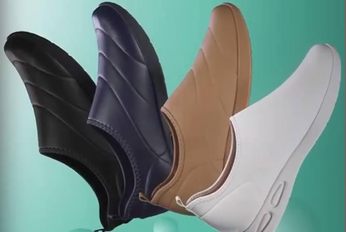 Lanzan calzado con protección contra virus y bacterias