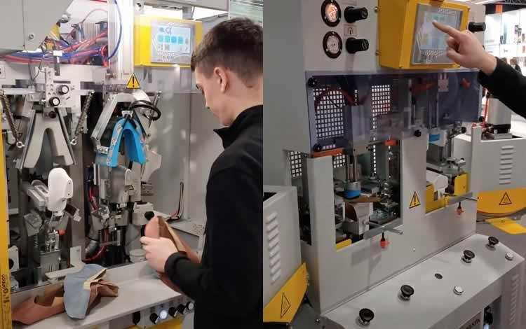 Industria 4.0 maquinas automatizadas conectadas a la empresa