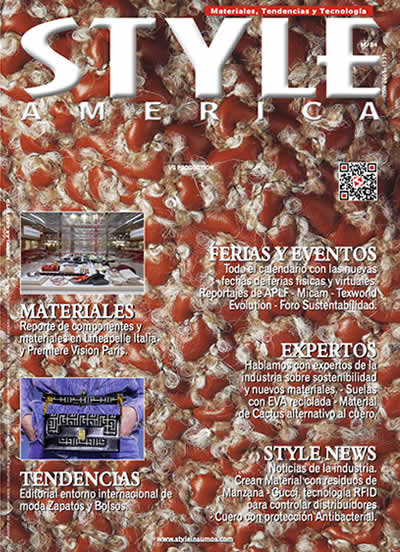 Revista Style America Materiales, Tendencias edición 24