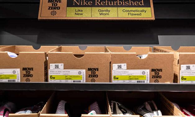 Zapatos remanufacturados de Nike proyecto de economía circular