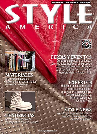 Revista Style America Materiales, Tendencias edición 25