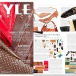 Revista Style America Materiales, Tendencias y Tecnología segundo semestre 2021