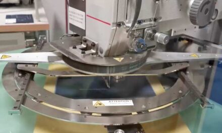 Tecnología de costura automática giratoria