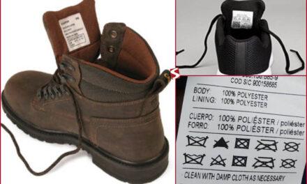 Nuevo reglamento de etiquetado de calzado y marroquinería de la CAN